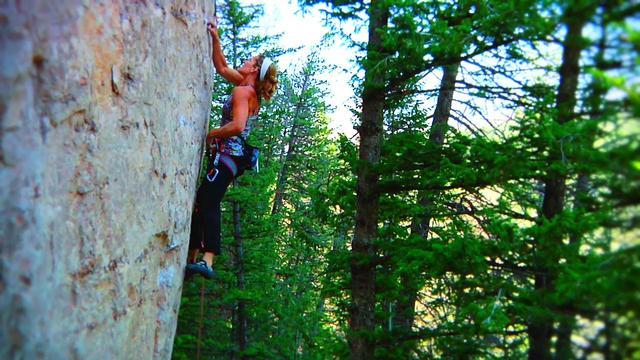 """If That Ain't Country..."" Climbing in Ten Sleep Canyon."